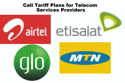 Nigerian Networks tariff plans and call packages