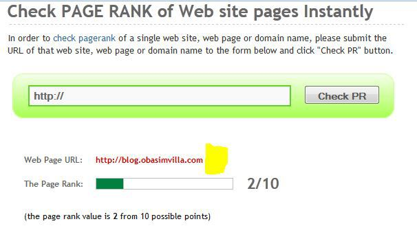 surefire reasons while your site pagerank is going down
