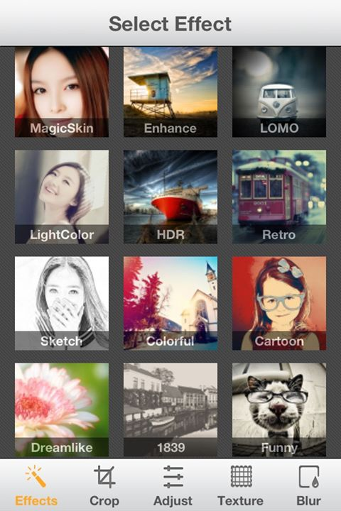 Camera360 Ultimate-photography effects app for iOS features