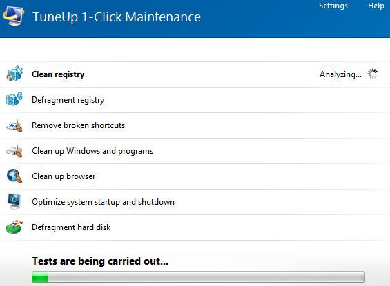 tune up maintenance utility