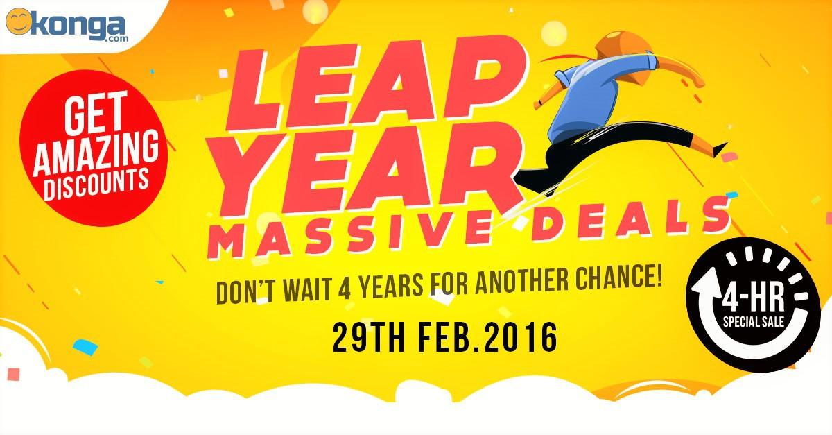 Konga Leap Year Deal