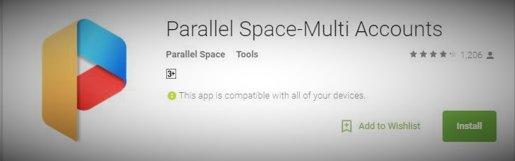 Parallel Android App