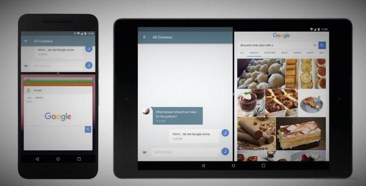 Android N multi-window