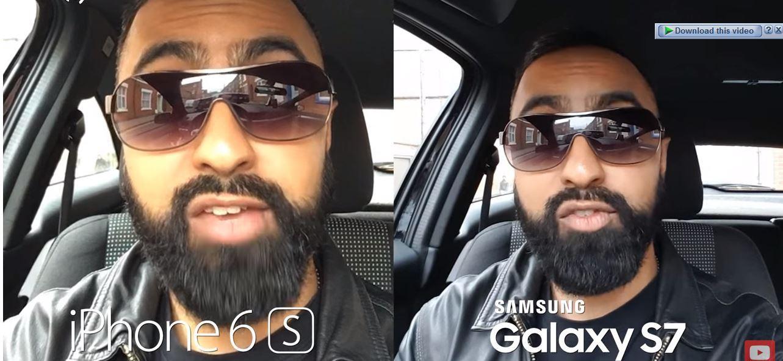 Samsung vs iphone 6s