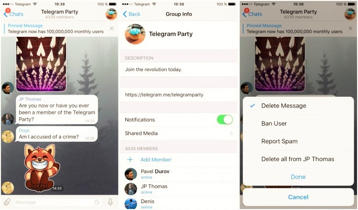 Telegram New Update