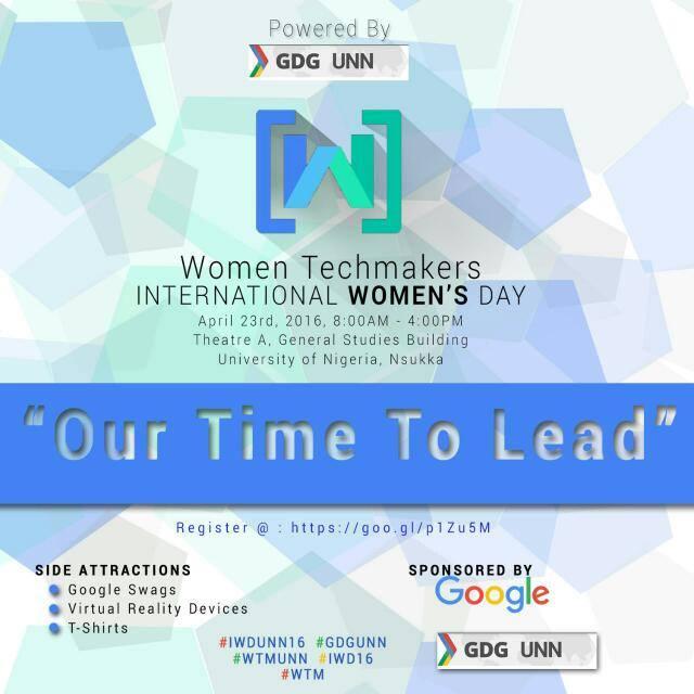 Women TechMakers UNN