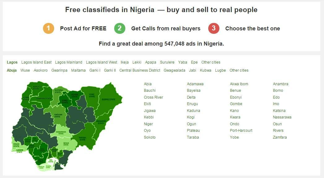 JIji.ng Covers all states in Nigeria