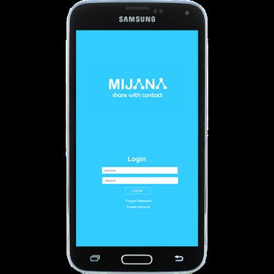 Mijana App On Login