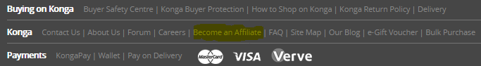 how to earn money online in NIgeria with konga Affiliate program
