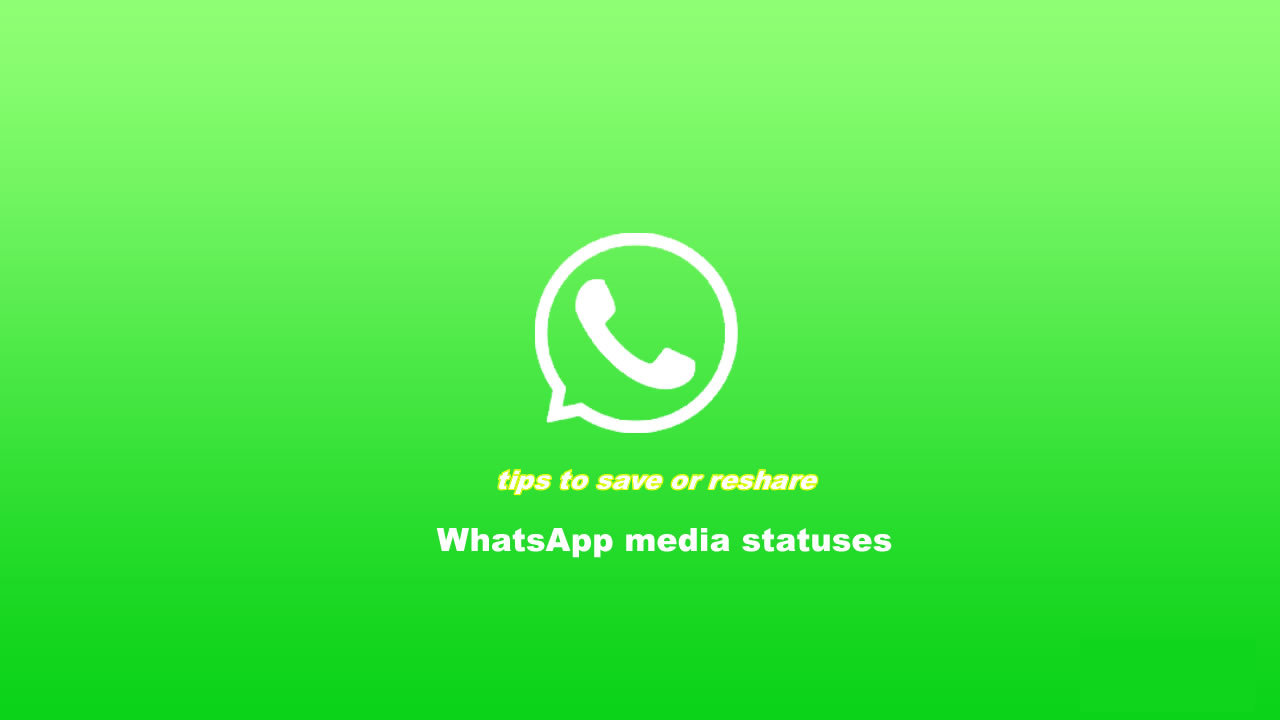 how to download WhatsApp media status to gallery