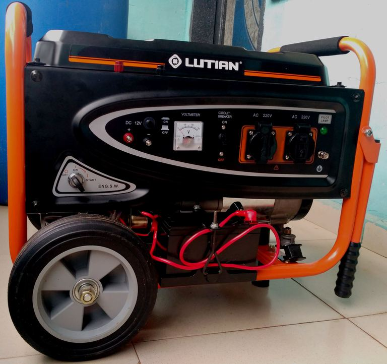 Lutian petrol generator review and prices