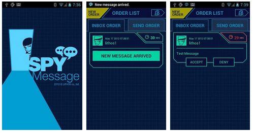 spy message app review