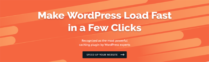 WordPress Cache Plugin - WP Rocket