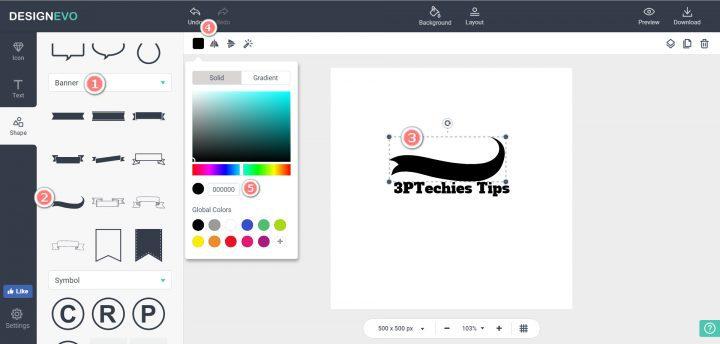 DesignEvo logo app review