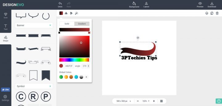 tips to add color to your logo