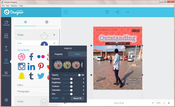 FotoJet Designer software tutorials