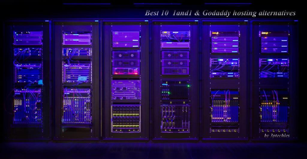 Best Godaddy & 1and1 hosting alternatives for business hosting