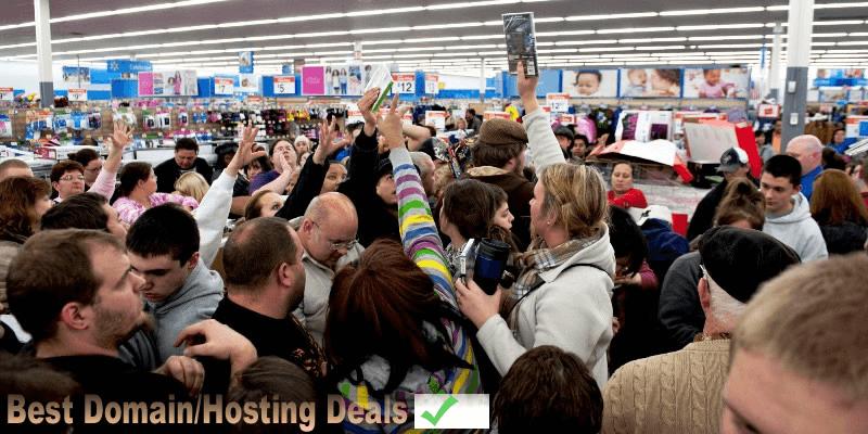 best black friday 2017 & Cyber Monday 2017 domain/hosting deals