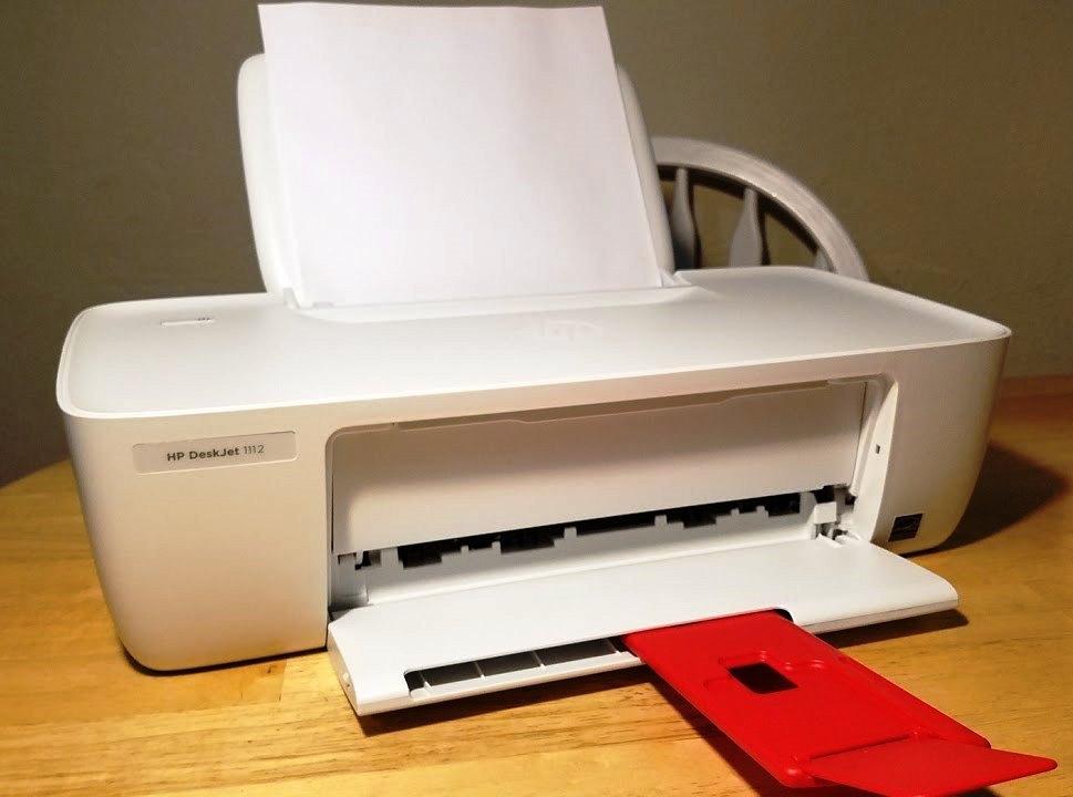 HP DeskJet 1112 tops list of budget printers for students