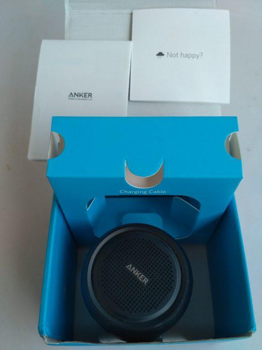 anker mini-Bluetooth speaker unboxing