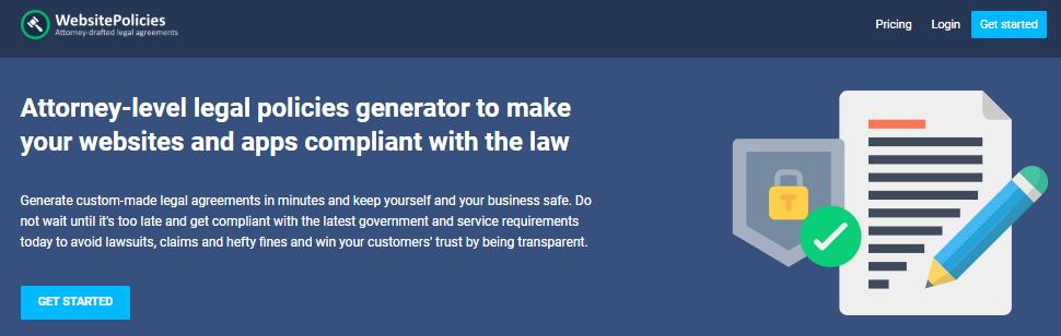 Free GDPR Privacy Policy Generator