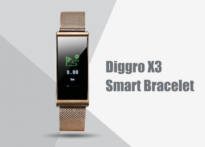 Diggro X3 Bluetooth Smart Bracelet Review