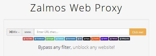 zalmos web proxy