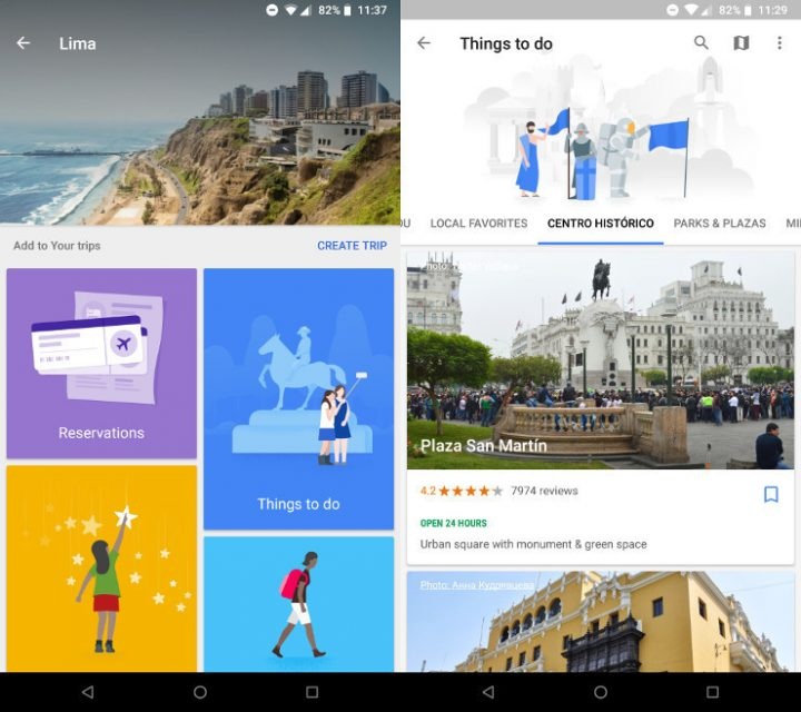 Google Maps mobile app overview