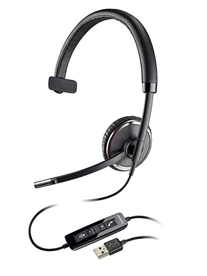 Plantronics Blackwire C510-M USB Over the Head Mono Headset