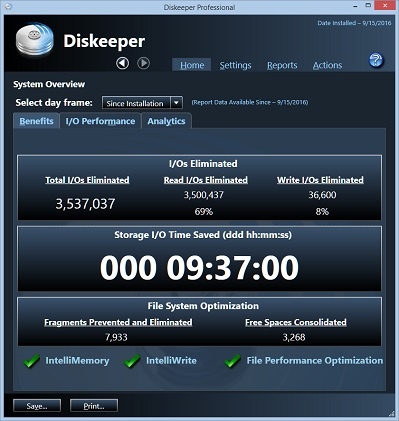 Disk keeper