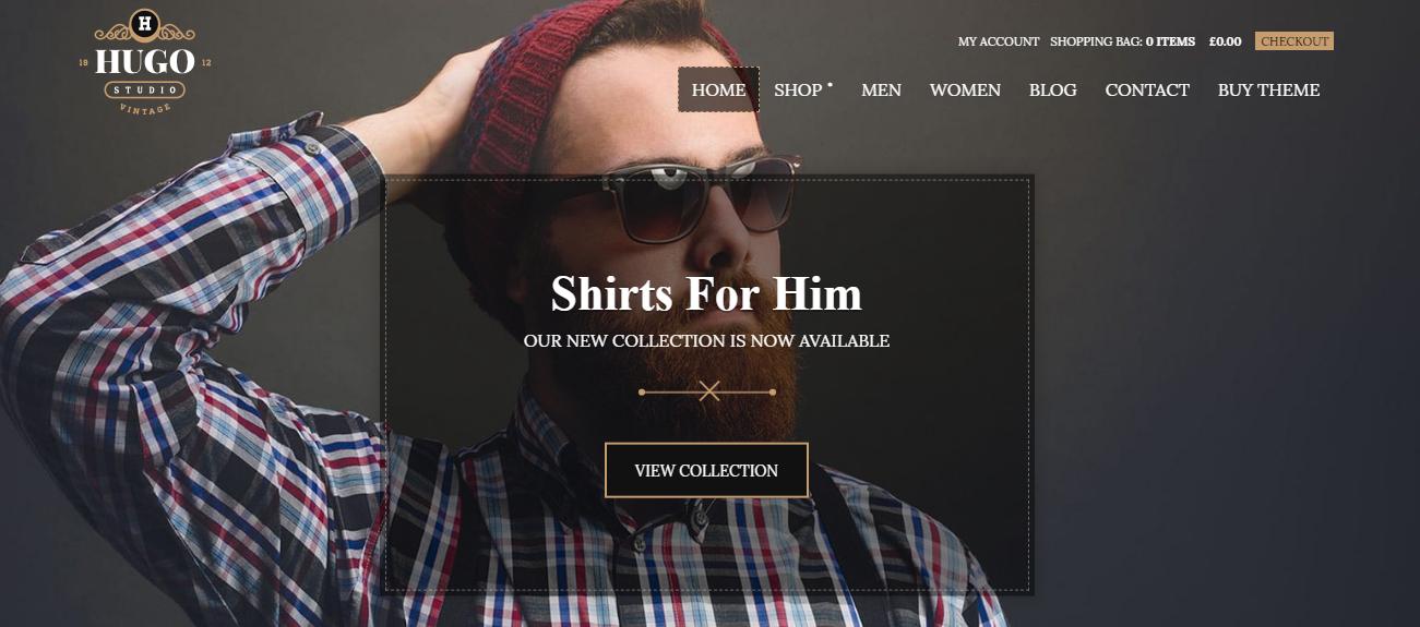 Hugo eCommerce Theme