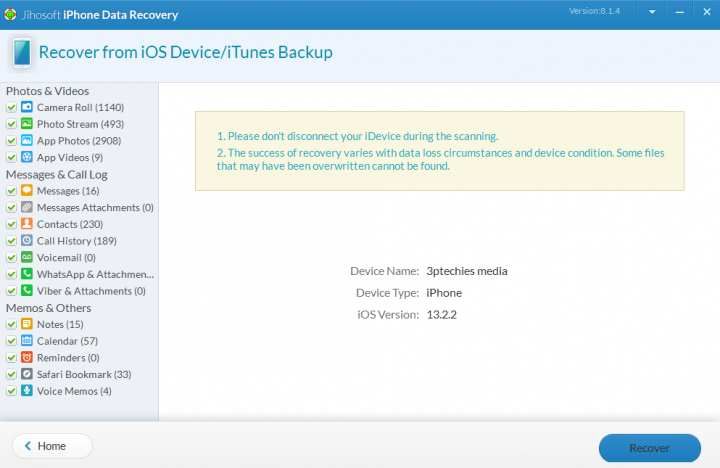 Jihosoft iPhone Data Recovery Software Review