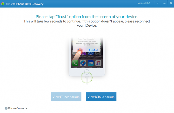 Jihosoft iOS Data Recovery Software Tutorials