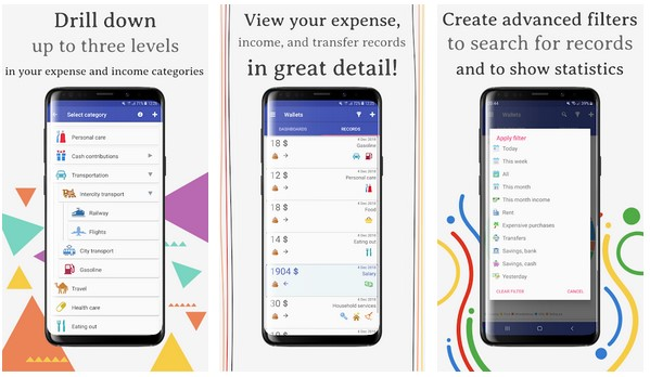 Wallets — Expense Tracker