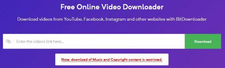 Bitdownloader video downloader review and tutorials