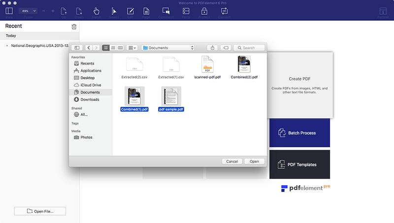 PDFelement 6 Pro mac