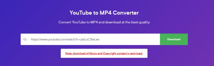 bitDownloader Youtube converter