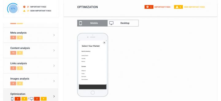 optimization report
