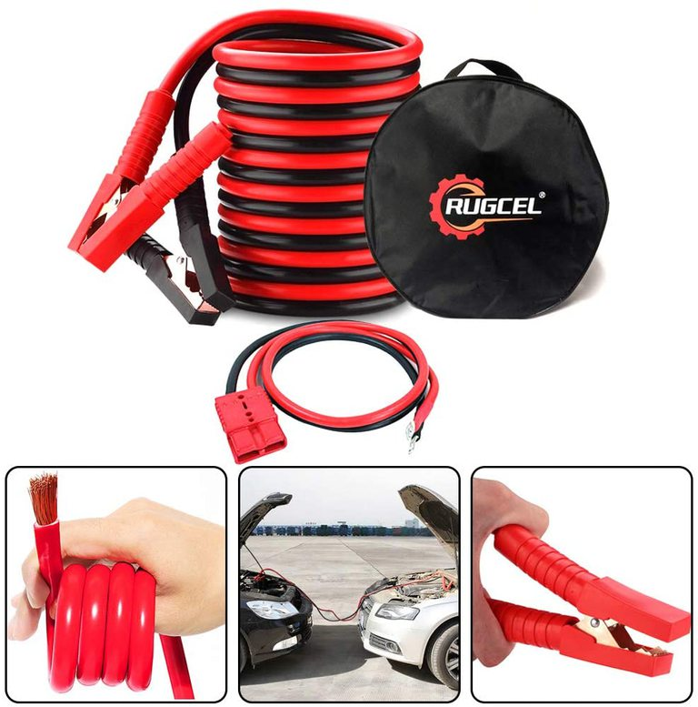 RUGCEL Battery Jumper Cable