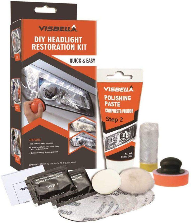 Visbella Professional Headlight Restoration Kit