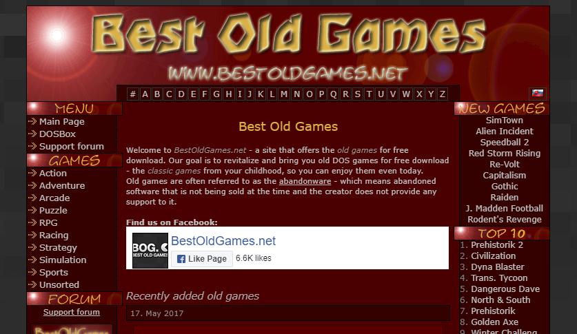 Best Old Games