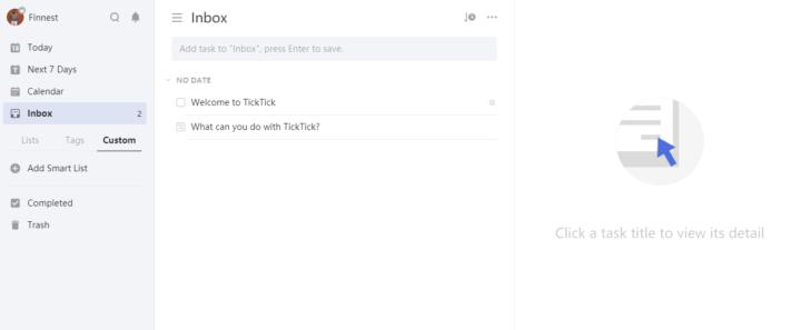 TickTick app review