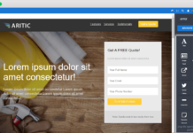 Aritic PinPoint Landing Page