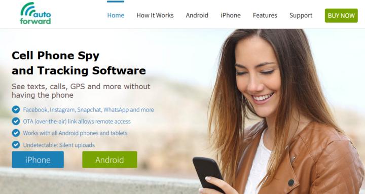 Auto Forward Phone Spy App