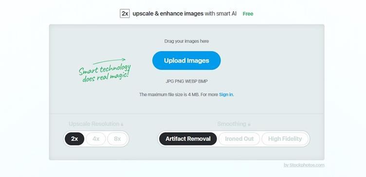 Stockphotos.com Image Upscaler