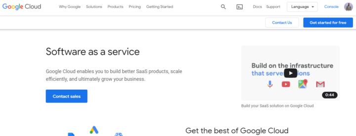 Google SaaS