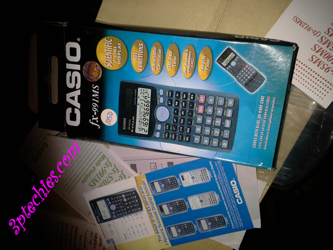 Casio fx-991MS 2-Line display Scientific Calculator