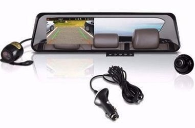 digitized rear-view mirror for cars