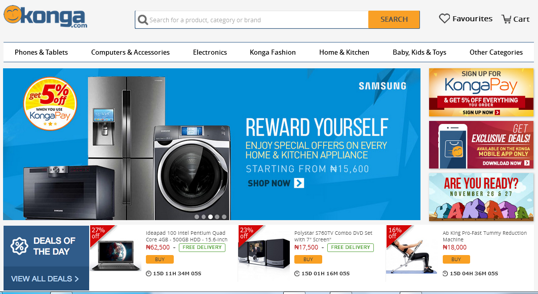 konga online shopping emall review