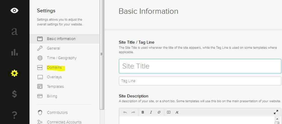 Mapping a Custom Domain Name to SquareSpace
